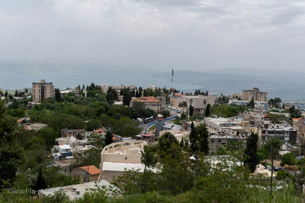 View from Citadel Park, Safed