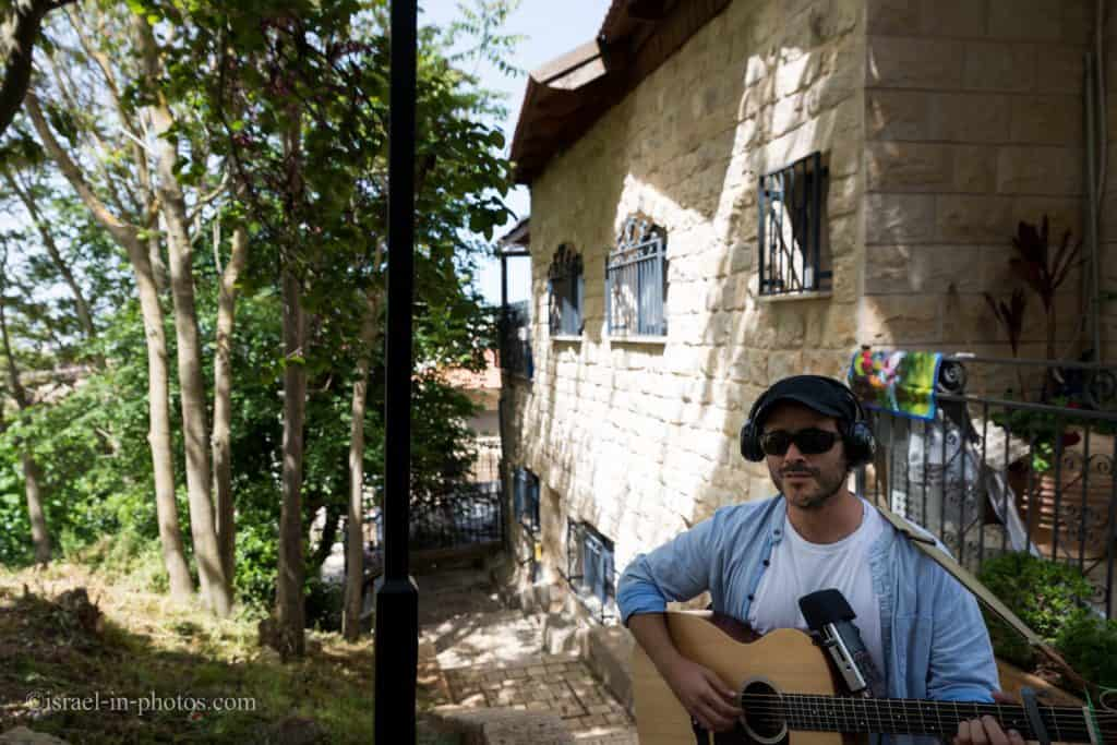 Musical tour in Safed