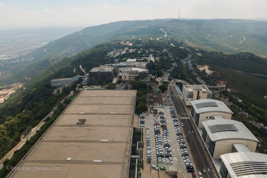 Haifa view from the university observation deck