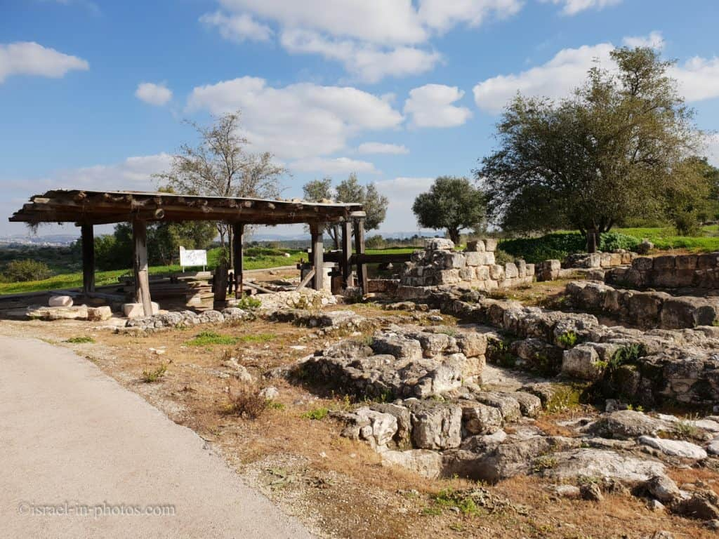 Restored ancient olive press and living quarters