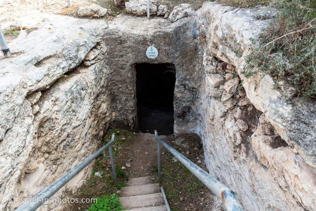 Mikveh in a cave