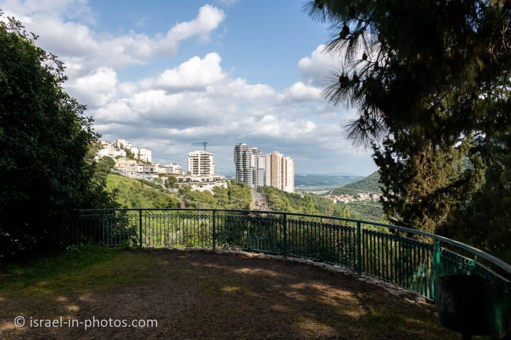 Viewpoint at Nesher Park