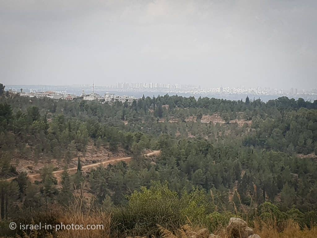 Hezi Viewpoint at Horshim Forest