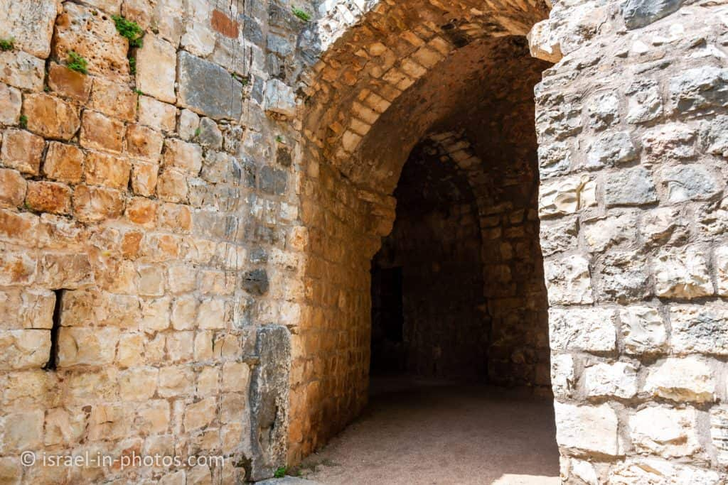 The Main Gate at Yehiam Fortress