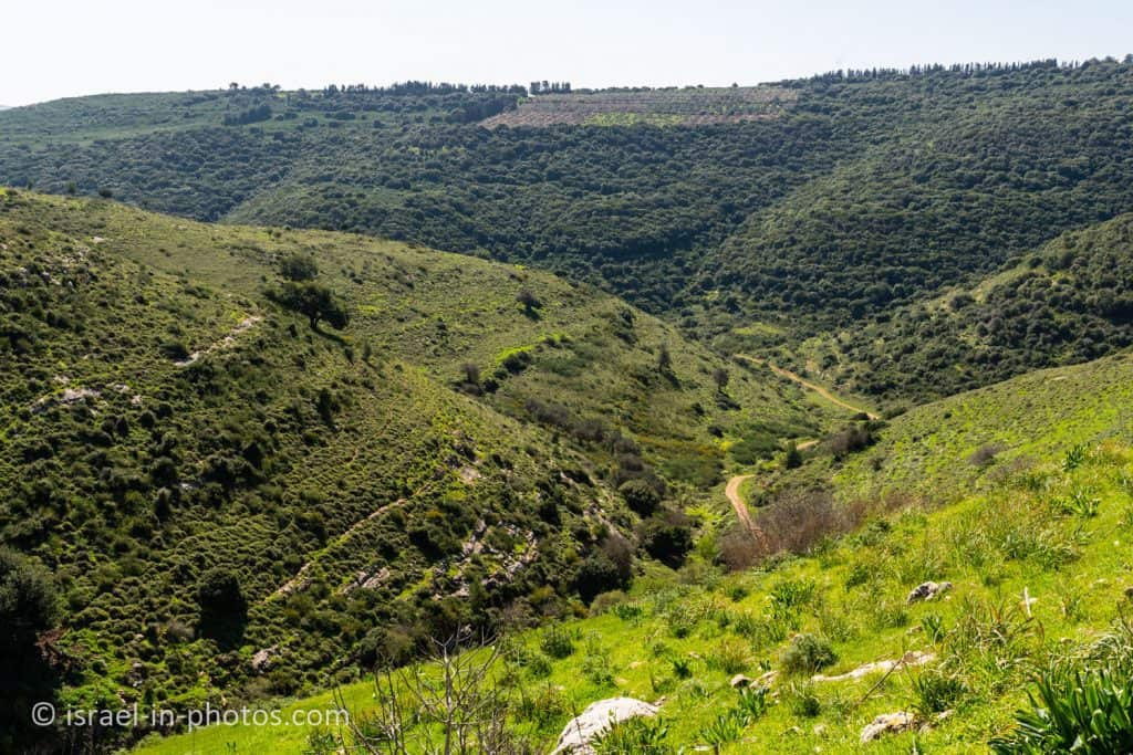 View from Tel Yodfat